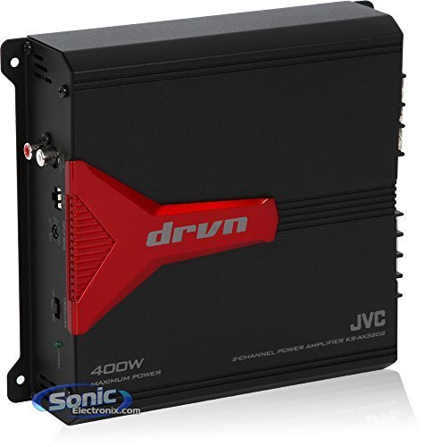 JVC KSAX3202 2-canal 400 Watts amplificador de JVC: Amazon ...