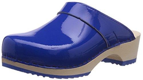 Gevavi6006 BIGHORN - Zuecos Mujer Azul - Blau (blau(blauw) 84)