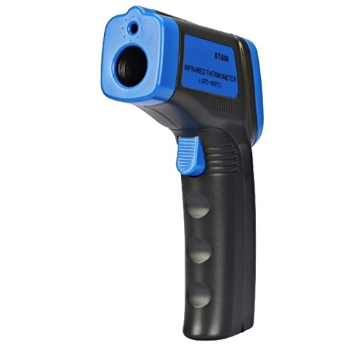 TOOGOO(R) Digital Thermometer ST600 IR Infrared Non-Contact Laser LCD / Temperature Meter Gun(-32~600 Degrees Celsius)