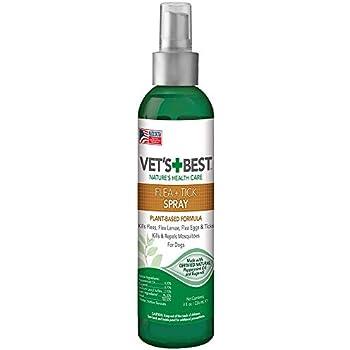 Vets Best Flea Tick Spray 8 Oz Usa Made