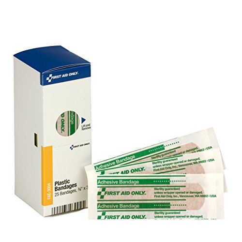- Pac-Kit by First Aid Only Plastic Bandages, 3/4