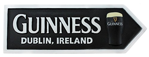 Guinness Souvenir Refrigerator Magnet with Dublin, Ireland and Pint of Guinness ()