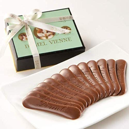 Amazon | デメル ソリッドチョコ猫ラベル ミルク | デメル | チョコレート菓子 通販