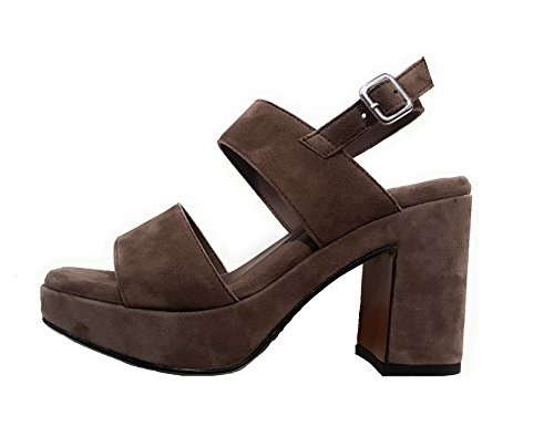 4cm 10cm Sandalo Donna Terra 89a2 Frau Tacco Plateau xgqC8f