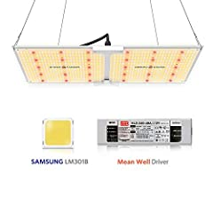 Why Choose SPIDER FARMER Full Spectrum SF Lights?★ With SAMSUNG LED diodes - high energy efficiency 2.7umol/J, provides a much longer service lifetime, you can easily save money without  purchasing lights frequently and pay less in electricit...