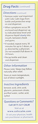 Colic-Calm Homeopathic Gripe Water,Relief of Gas, Colic and Upset Stomach...
