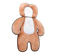 AOLVO - Cojín de Apoyo para el Cuerpo del bebé, Suave y Transpirable algodón Reductor de Apoyo, cojín Acolchado para la Cabeza del bebé, Almohadilla ...