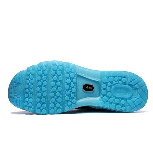 Onemix Men's And Women's Lightweight Air Cushion Sport Running Shoes Bule DhF3Z9o8