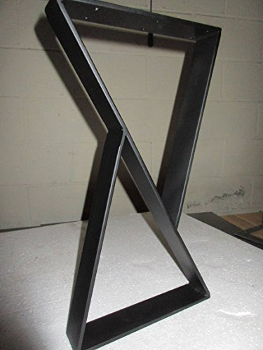 Coffee Table Metal Legs,Coffee Table Base,Custom Sizes. (Trestle Size Standard Table)