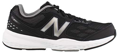 New Balance Men's MX517v1 Training Shoe, Black, 11.5 4E US