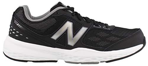 New Balance Men's MX517v1 Training Shoe, Black, 8.5 4E US