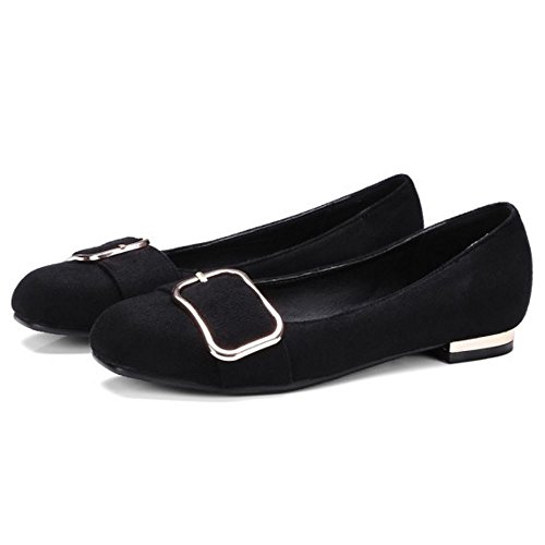 Black Dimensiones Donna Moda Zanpa Piatto Big Pumps YxBqnaA1