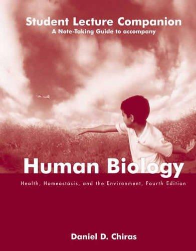 Slc- Human Biology 4e Student Lecture Companion