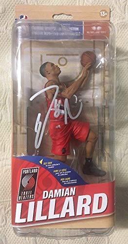 Damian Lillard Autographed Signed Blazers Mcfarlane Chase NBA Figure - Beckett Authentic