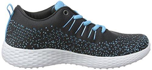 Blue Saint Femme Fitness Charcoal de Gris Gola Chaussures gSnqFvWq0