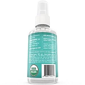 USDA Certified Organic Rose Water Face Spray by ANTHROPOSOPHE: Certified by USDA & ECOCERT; Anti-Aging, Moisturizing & Pore Minimizing Toner, 4 fl. oz.