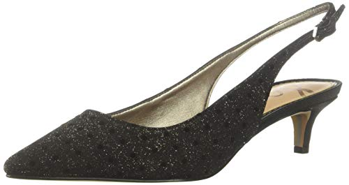 Sam Edelman Women's Ludlow Pump, Metallic/Multi Glitter dot, 9 M US -