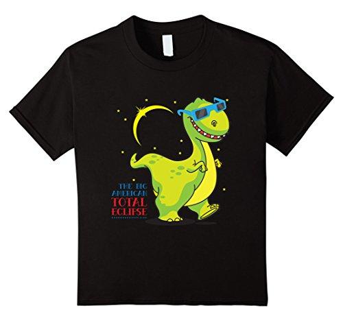 Price comparison product image Kids DINO Solar Eclipse August 2017 Shirt | Sun Eclipse T-Shirt 4 Black