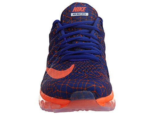 Nike Herren Air Max 2016 Print Concord / Total Crimson Laufschuhe Übereinstimmung / Total Crimson