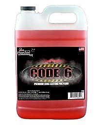 Master Fog - Code 6(TM) (Ridiculously Long Lasting Fog Juice Fluid) - 1 Gallon