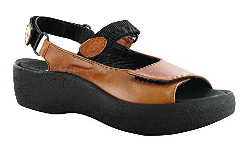Sandals Womens Leather Jewel Brandy Smooth Leather Wolky qgf4wT1H