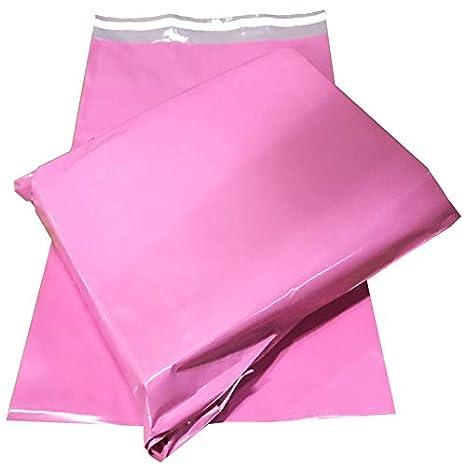Bolsas de plástico para envíos postales, color rosa, para ...