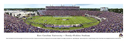 - East Carolina Football - Blakeway Panoramas Unframed College Sports Posters