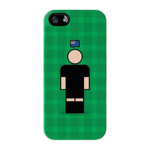 New Zealand 2 Full Wrap High Quality 3D Printed Case for iPhone 5 / 5s by Blunt Football International + FREE Crystal Clear Screen Protector