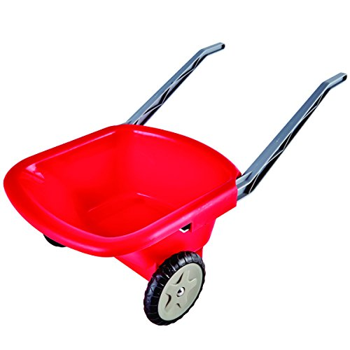 Hape Kids Beach and Garden Wheelbarrow, Red