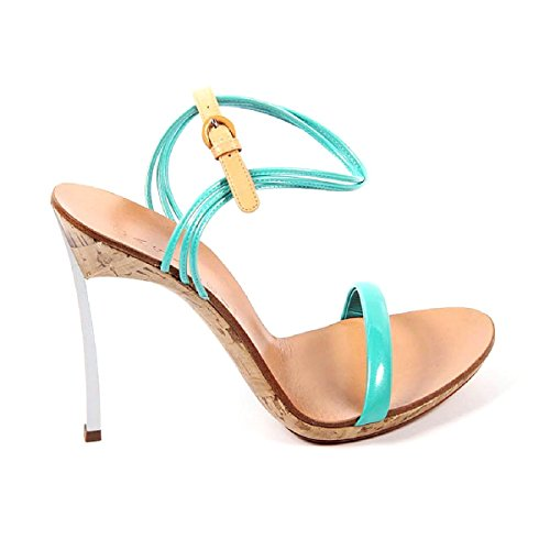 Casadei Ladies Sandals 3424N121.Dx8T221I27 Light Blue