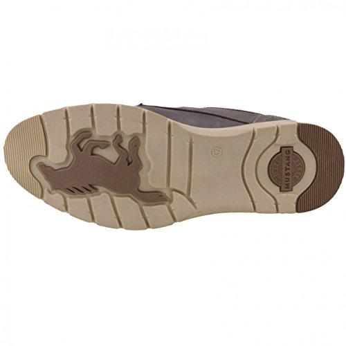 Mustang - Zapatos de cordones de Material Sintético para hombre Gris gris