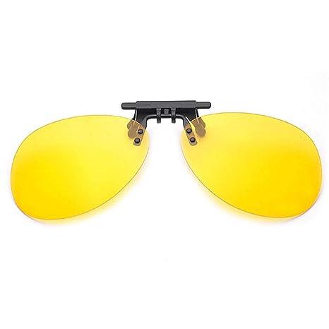 be86fd83b9 FOONEE - Gafas de Sol con Clip para Hombre y Mujer, antirreflejo, Lente  Ultrafina de 0,5 ...