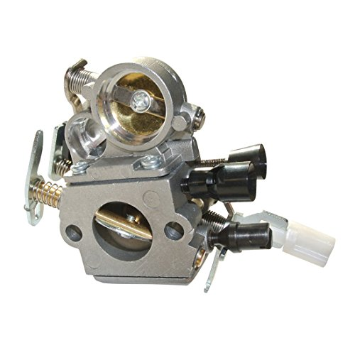 JRL Carburetor for Stihl MS171 MS181 MS181C MS211 Chainsaw Repalc Carb ZAMA C1Q-S191 (Ms171 Stihl Chainsaw)