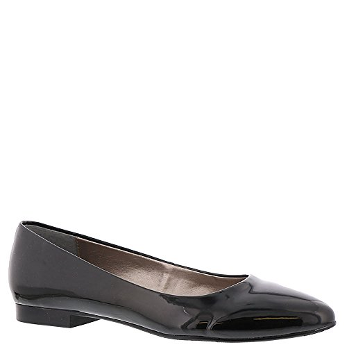 Serie Paula Dames Slip Op Zwart-patent