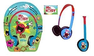 Little Star Creations MMH Mr Noisy Kids - Auriculares para niños