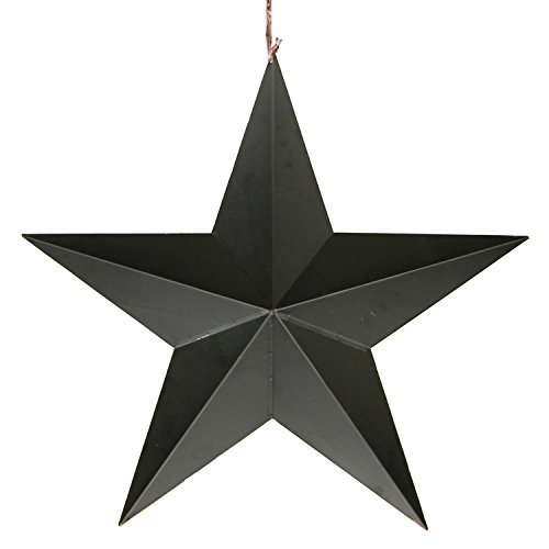 YK Decor Patriotic Old Glory American Flag Barn Star 4th of July Rustic Metal Dimensional 3D Star Wall Decor, (22'') by YK Decor (Image #3)