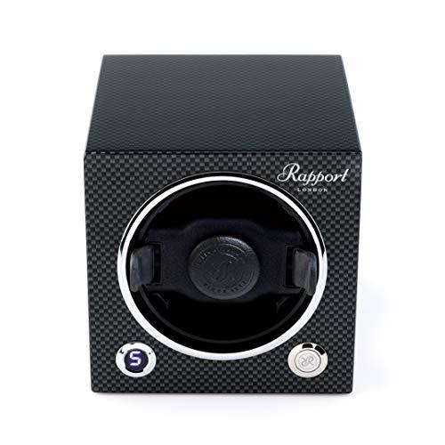 - Watch Winder - Rapport London Evo Cube Watch Winder - Carbon Fiber