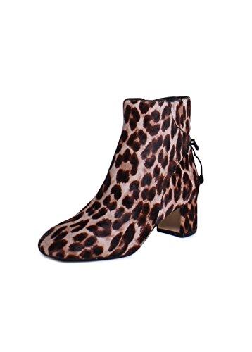 Tory Burch Laila Ankle Booties In Leopard Size - Tory Leopard Burch