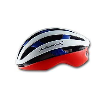 235g Peso ultra ligero - casco especializado de la bici, casco de ciclo ajustable del