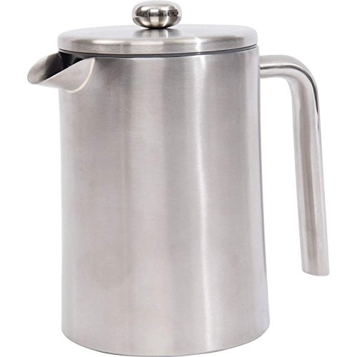 40.5 Ounce Coffee Pot - OKSLO 1.2l (40.5oz) double wall stainless steel (304) french press