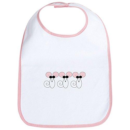 Cafepress   Three Blind Mice Bib   Cute Cloth Baby Bib  Toddler Bib