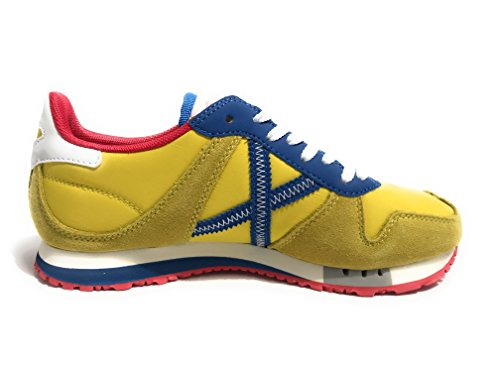 Munich Massana, Zapatillas Unisex Adulto GIALLO / BLU