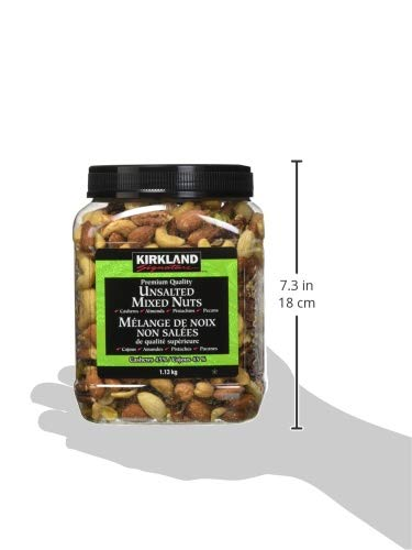 Kirkland Signature Extra Fancy Unsalted Mixed Nuts 2.5 (LB) by Kirkland Signature (Image #6)