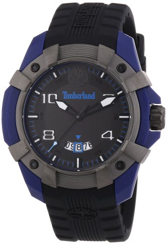 Timberland Gents 'Chocorua' Rubber Strapped Watch 13326JPBLU/61