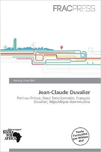 Lire en ligne Jean-Claude Duvalier epub pdf
