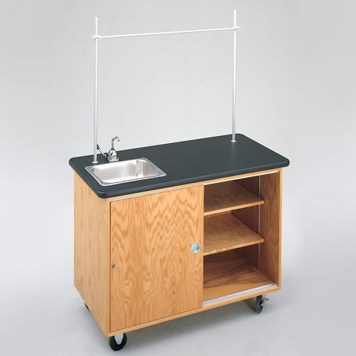 Laminate Top Lab Table - 1