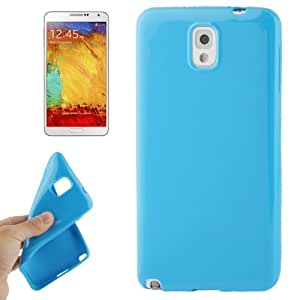 Smooth Surface TPU Protective Case for Samsung Galaxy Note 3 / N9000 (Blue)
