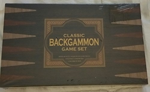 CLASSIC BACKGAMMON GAME SET by FINEGIFT INDUSTRIAL CO., LTD.