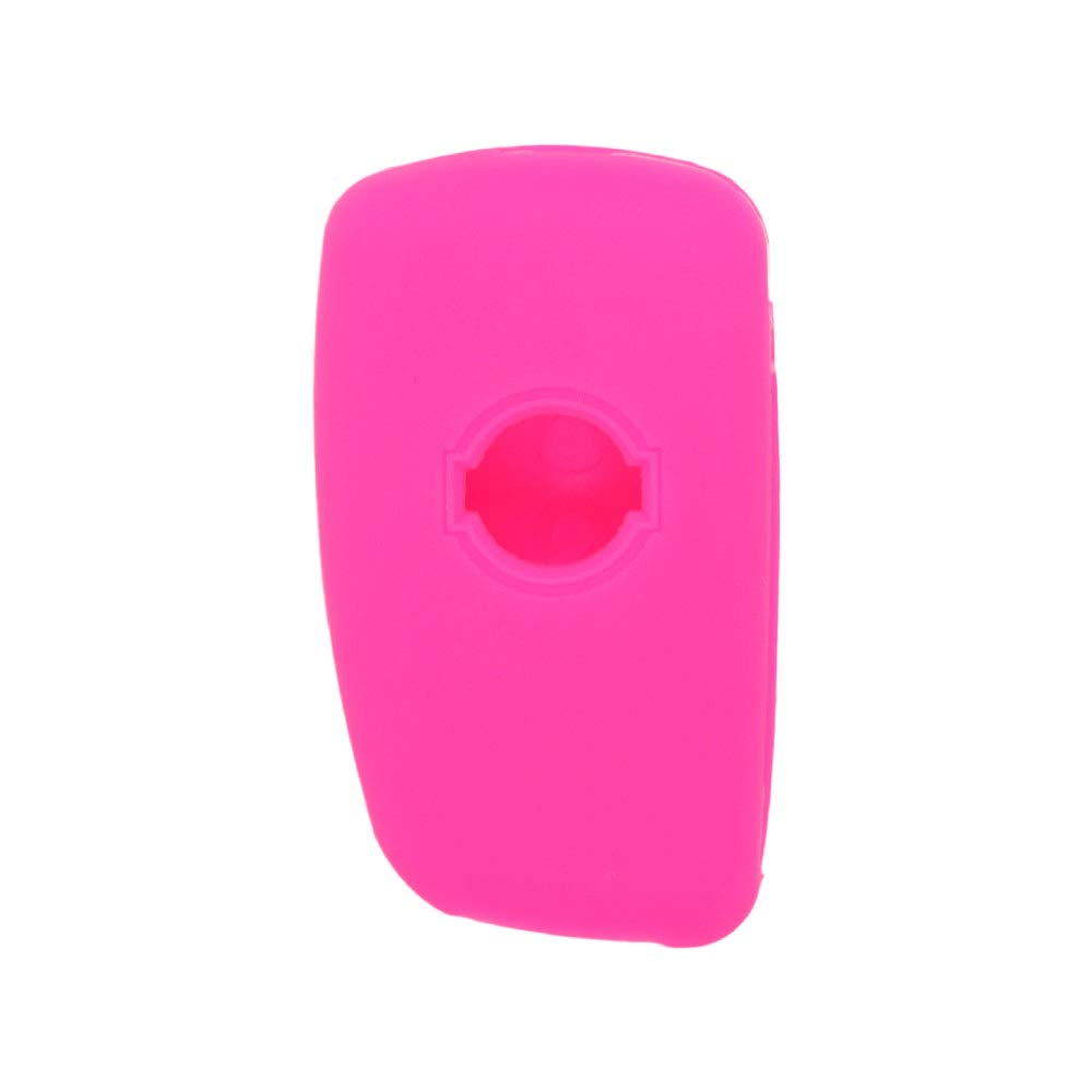 SEGADEN Silicone Cover Protector Case Skin Jacket fit for NISSAN 3 Button Flip Remote Key Fob CV4507 Light Green