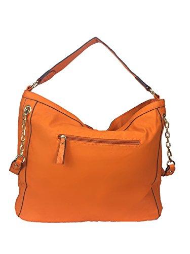 Handbag Hobo Jumbo Zzfab Bag Orange Skin Snake awEAvA